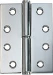 Hinge - Left Hand Lift Off Chrome 100mm x 75mm2696