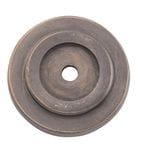 Backplate Antique Brass 25mm4119