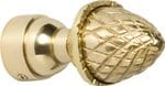 Acorn Finial Polished Brass 19mm4612