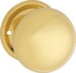 Mortice Knob Polished Brass