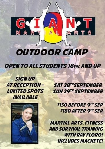 Outdoor Training Camp - September 2019