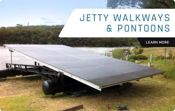 JETTY WALKWAYS & PONTOONS
