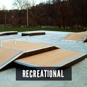 CCA composite boards for use in recreation