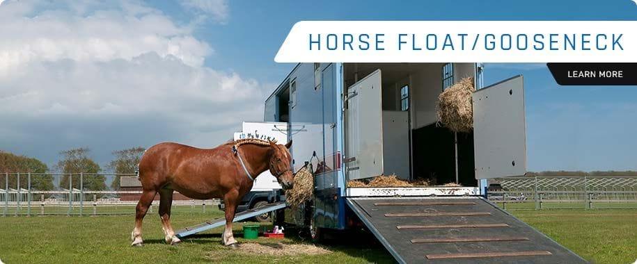 HORSE FLOAT/GOOSENECK