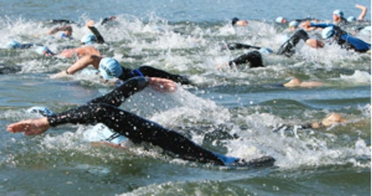 Open Water Swimming in Triathlon: Even healthy athletes need to be aware of the heart risks