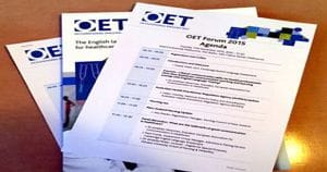 The Occupational English Test (OET) Forum 2015