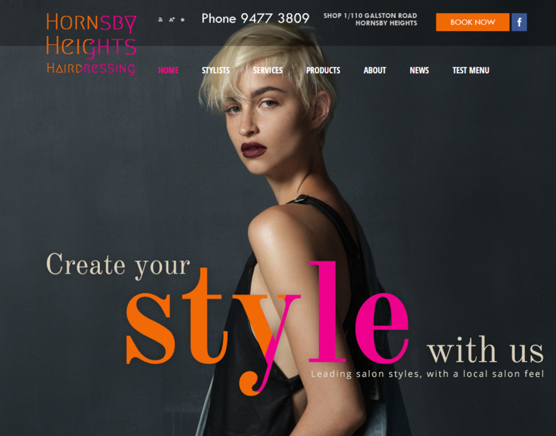 Hornsby Heights Hairdressing launches a new website