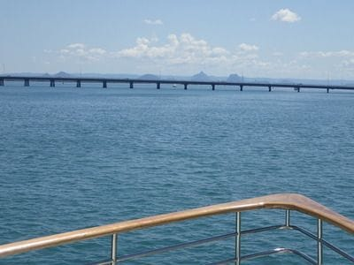 Bribie Island Bridge, Bribie Island, Glasshouse Mountains