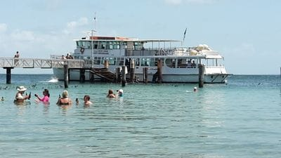 Amity Point, Stradbroke Island, swimming, Lady Brisbane