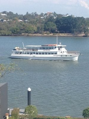 Lady Brisbane boat