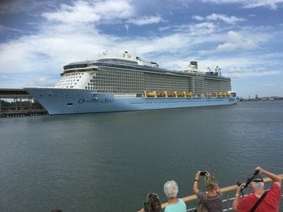 Ovation of the Seas Cruise Ship