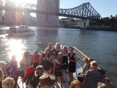 Lady Brisbane,Brisbane River lunch cruise