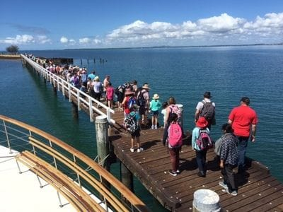 Brisbane Cruises, St Helena school groups
