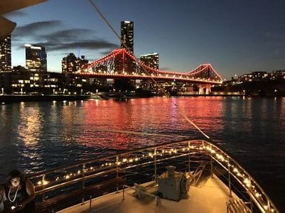Brisbane River sunset cruise