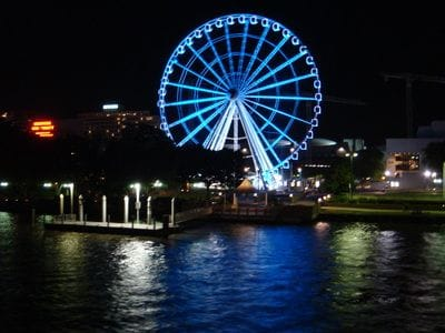 South Bank Wheel, Brisbane, Brisbane River