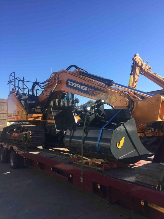 DRG Contracting - New Case CX235C Excavator