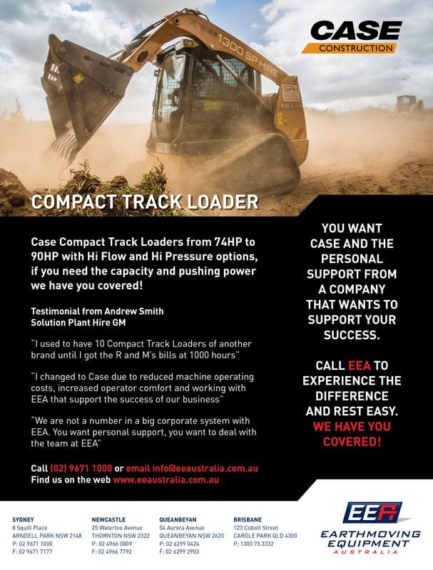 Testimonial from Andrew Smith, Solution Plant Hire
