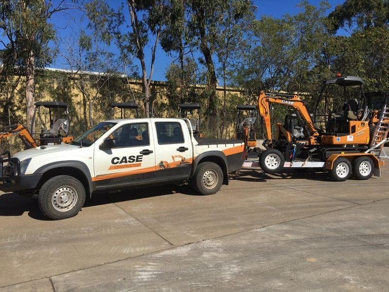 APA Group - 2 new Case CX18B Excavators