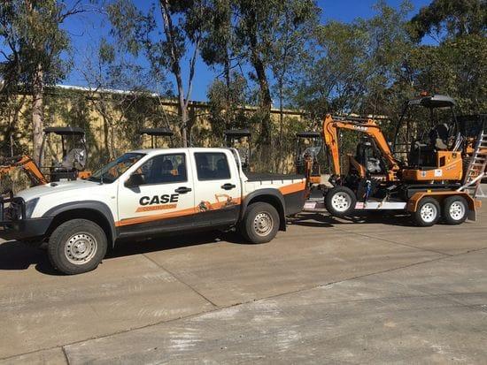APA Group - 2 new Case CX18B Excavators