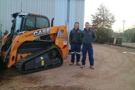 Case TR270 Track Loader delivered to Dubbo Landscaping
