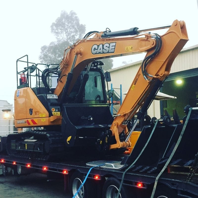 Case CX145C Excavator - South Creek Plant Hire