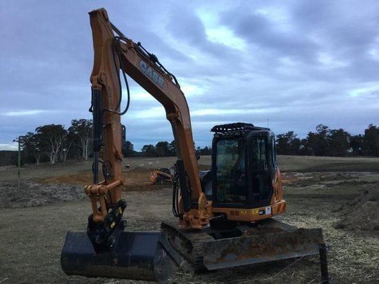 Case CX80C Excavator to Delamont Earthmoving