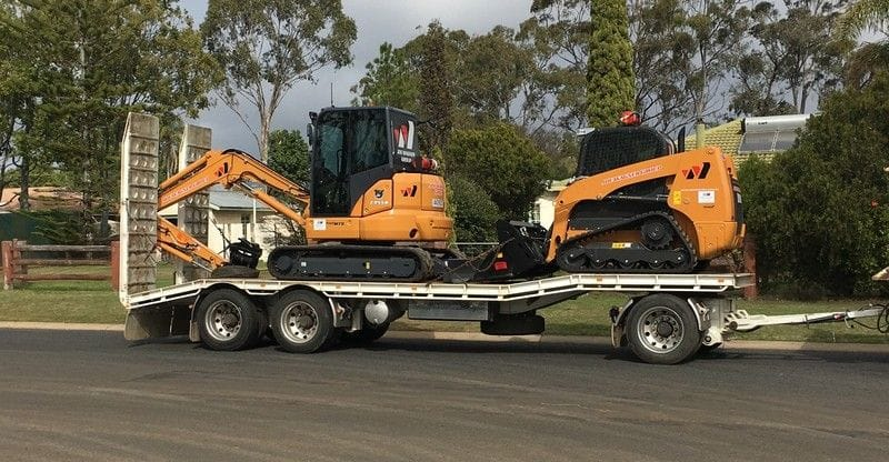 4 Case Machines delivered to Joe Wagner Group