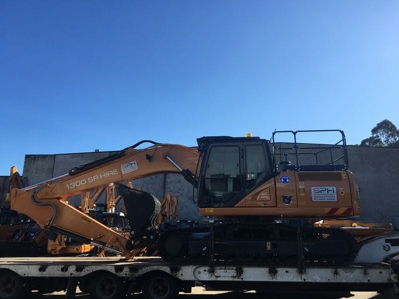 Case CX210C Excavator - Solution Plant Hire