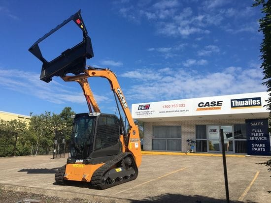 Case TR270 delivered to Sheppard Earthmoving