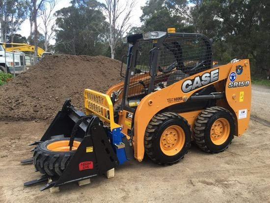 Case SR150 delivered to Glen Banfield