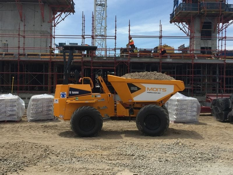 9T Thwaites dumper delivered to Moits Civil