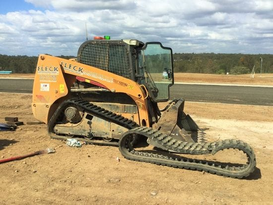 Our Field Service Team on site with Fleck Earthmoving