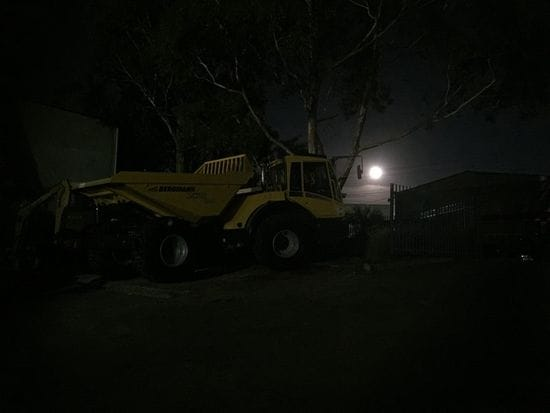 Bergmann Tipper Under The Supermoon