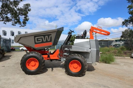 Impressive new Thwaites Dumper for GW Landscapes