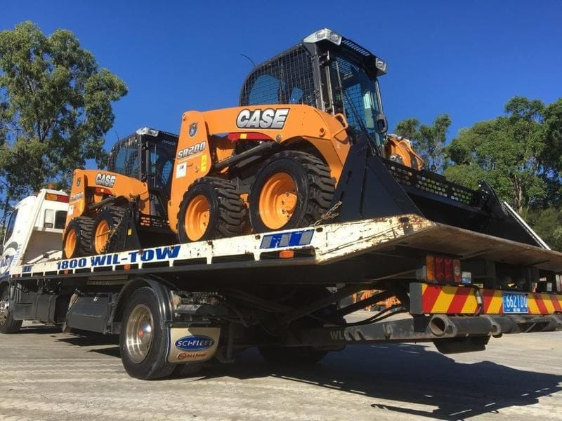 Thank you to Glenvale Poultry for the purchase of two new Case SR200 Skid Steers!