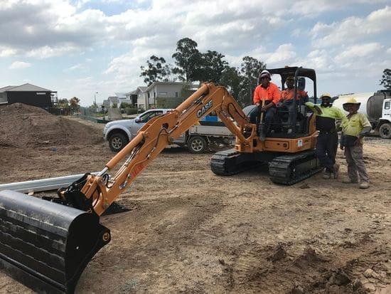 Avtrax Excavator Hire Taking Delivery
