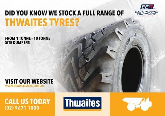 1T - 10T Thwaites Tyres