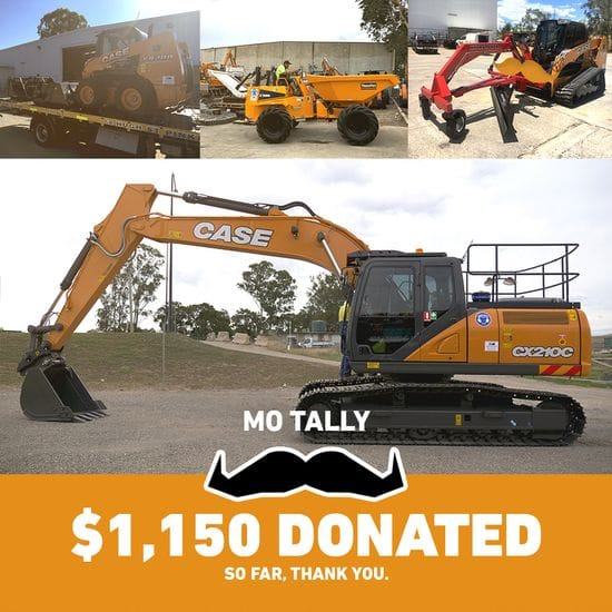 Raising over $1000 for the Movember Foundation!