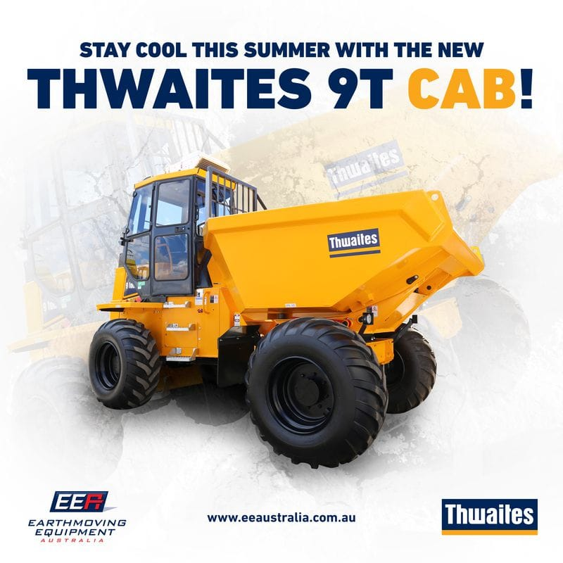 Introducing the NEW 9T Thwaites Cab Dumper!