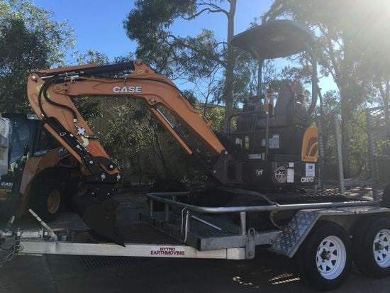 A new Mini Excavator for Nytro Earthmoving