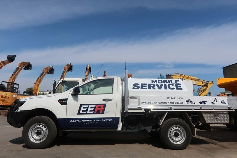 We're expanding our fleet of service vehicles