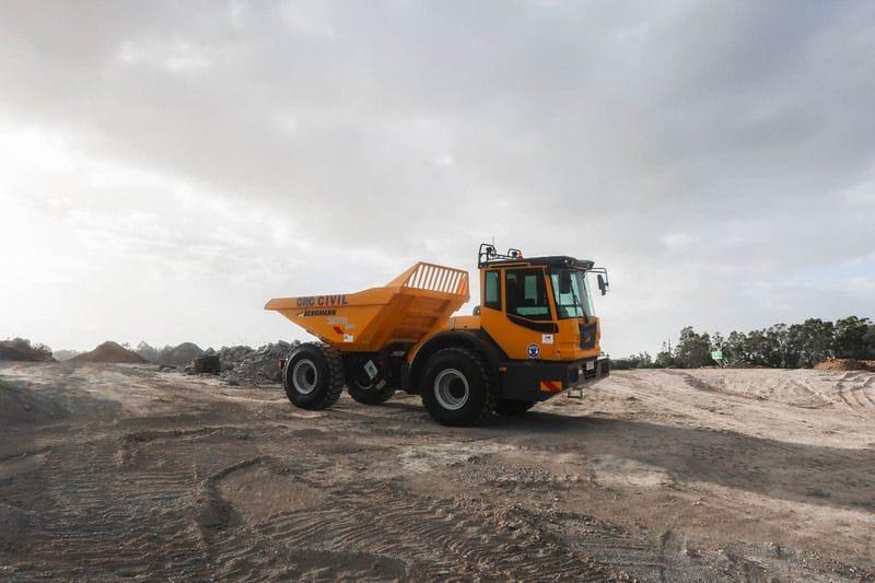 Our first Bergmann Dumper delivered for 2018!