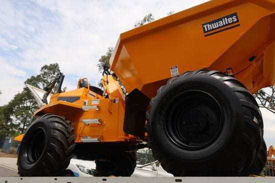 A 4th Thwaites Dumper added to the fleet!