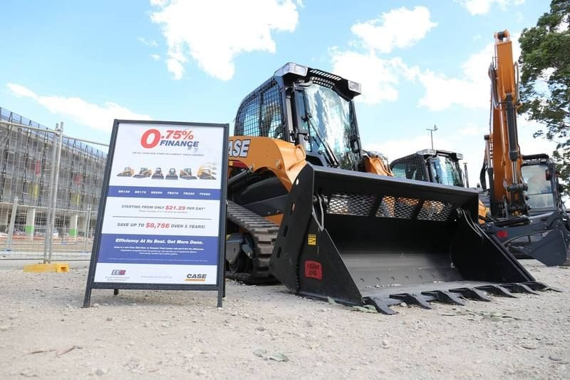 Best Earthmoving Low Interest Rate Finance Deal Around
