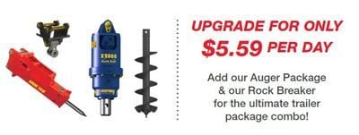 Auger Package with rock Breaker