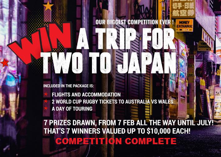 Earthmoving Equipment Australia | Trip to Japan Competition