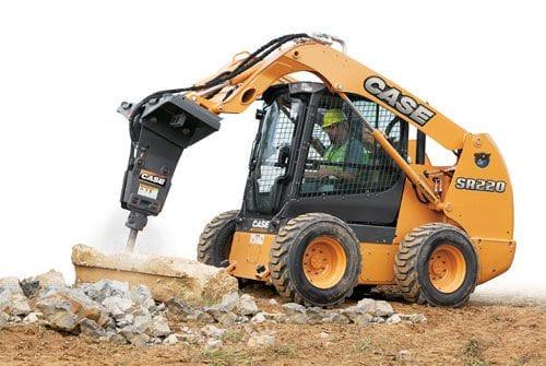 Case SR220 Skid Steer Loader Rated Operating Load 1000kg