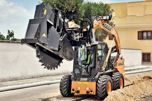 Case SV300 Skid Steer Loader Rated Operating Load 1360kg