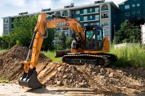 Case CX75C Excavator (Optional Offset Boom)