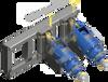 Auger Torque - Skid Steer & Telehandler Side Shift Earth Drill Frame